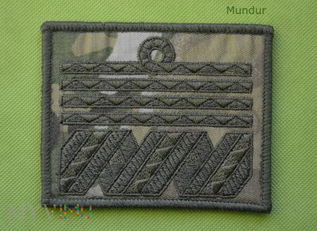 Oznaka stopnia MW na multicam - admirał