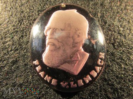 Szklane medaliony-KWHW Franz von Lenbach