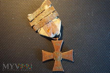 Krzyż Walecznych - 4-ro krotne nadanie :10326