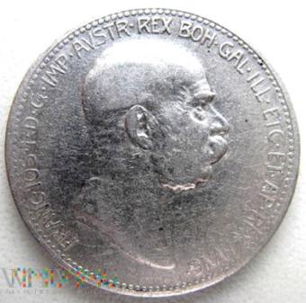 1 korona 1908 r. Austria (austro-węgry)