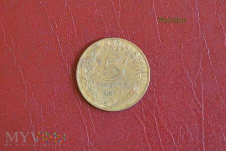 Moneta francuska: 5 centimes