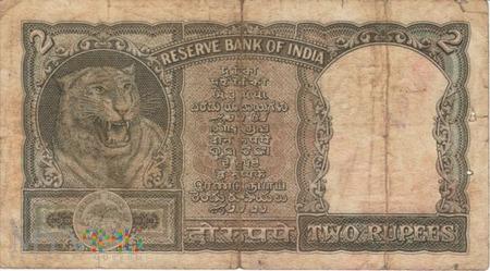 INDIE 2 RUPIE 1962