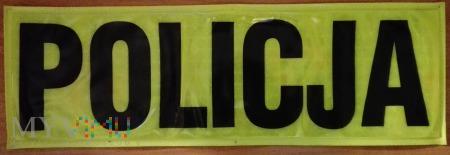 Policja odblask (duża, młodsza)
