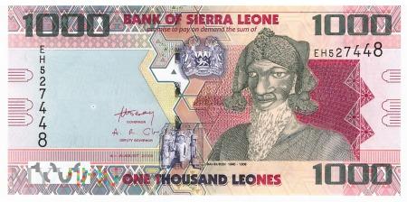 Sierra Leone - 1 000 leones (2013)