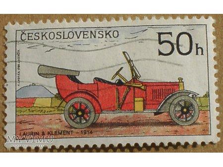 Duże zdjęcie Laurin & Klement - 1914, znaczek