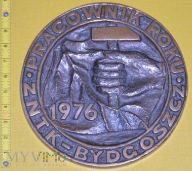 Medal kolejowy - firmowy ZNTK Bydgoszcz