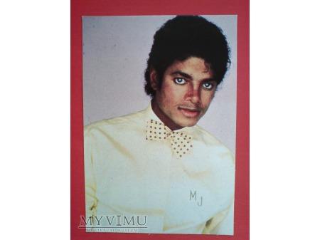 Michael Jackson Król Pop-u i muszka Pocztówka