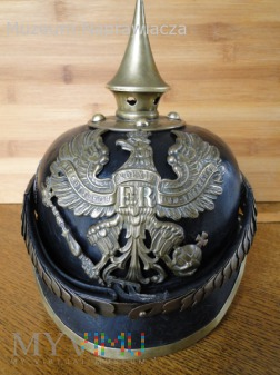 Infanterie regiment pickelhaube