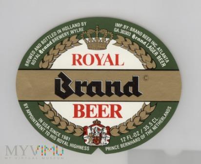 Brand, Royal Beer
