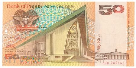 Papua Nowa Gwinea - 50 kina (1989)