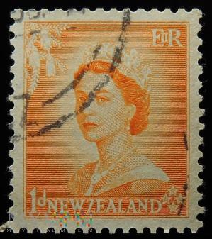 Nowa Zelandia 1d Elżbieta II