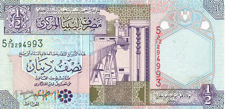Libia - 0,5 dinara (2002)
