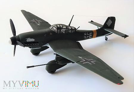 "Samolot Junkers Ju 87G ""Kanonenvogel"" (model 1/72)"