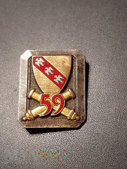 59 Pułk Przeciwlotniczy /rezerwowy/ - Francja