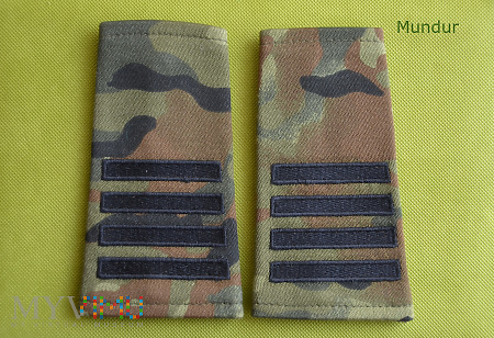 Pochewki polowe z oznaką stopnia - plutonowy SG