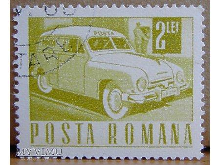 Duże zdjęcie Samochód pocztowy znaczek
