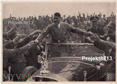 Zdjęcie propagandowe Hitlera. 1933 r.
