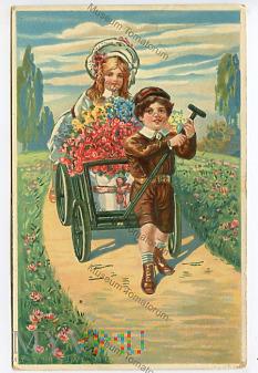 Kwietny wózek - 1911