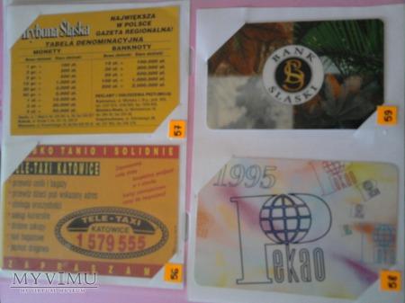 Duże zdjęcie Kalendarzyki 1995