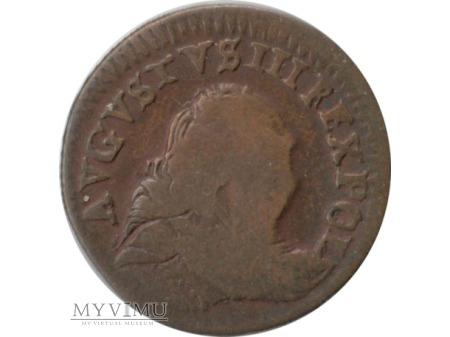 August III grosz 1754 rok