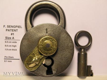 "F. Sengpiel Patent Padlock #1 - Size ""A"""