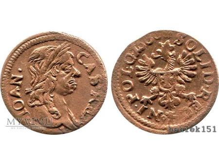 szeląg koronny 1660 9