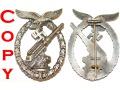 Zobacz kolekcję Odznaka Artylerii Przeciwlotniczej Luftwaffe
