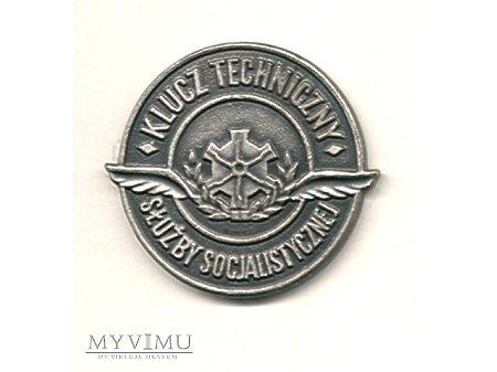 Duże zdjęcie Klucz Techniczny Służby Socjalistycznej