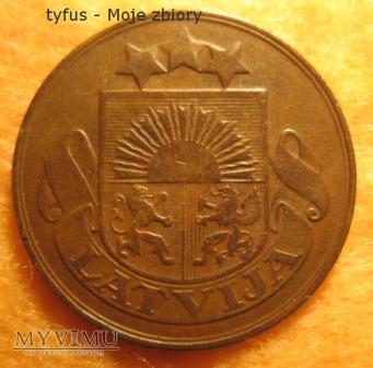 5 SANTIMI - Łotwa (1922)