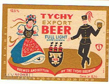 tychy export beer