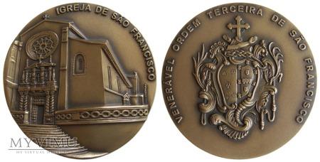 Duże zdjęcie Kościół Św. Franciszka w Porto medal