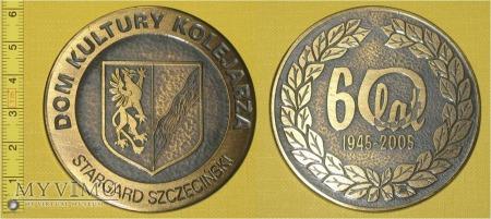 Medal kolejowy - społeczny DKK w Stargadzie Szcz.
