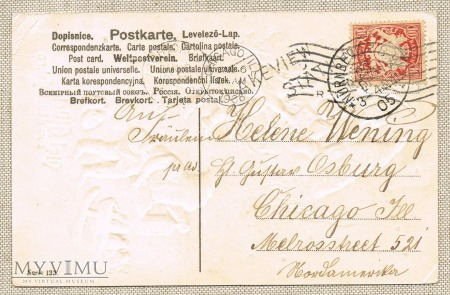 1905 Gnomy z pełnymi workami pieniążków