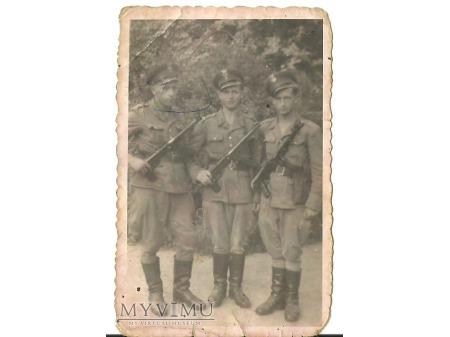 Pamiątka z wojska.