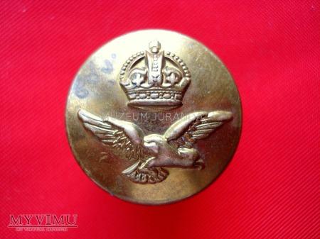 Guzik brytyjski RAF