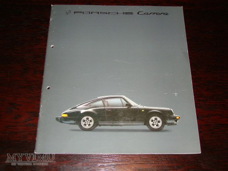 Prospekt PORSCHE 911 CARRERA / 911 TURBO
