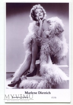 Marlene Dietrich Swiftsure Postcards 17/15