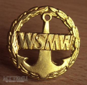 Oznaki szkolne: Wyższa Szkoła Marynarki Wojennej