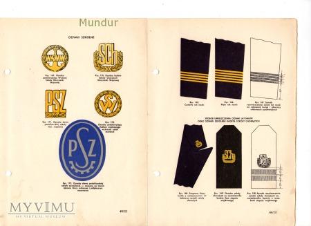 Przepisy ubiorcze żołnierzy Wojska Polskiego IIIB