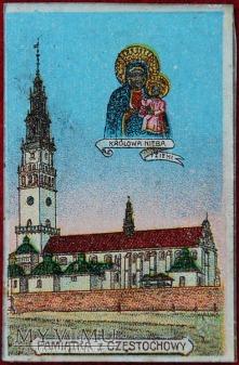 Pamiątka z Częstochowy - Królowa Nieba i Ziemi