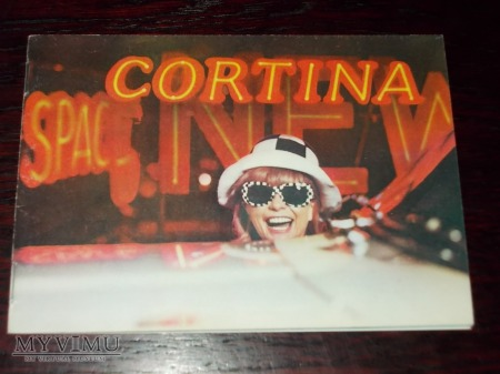 Prospekt FORD CORTINA
