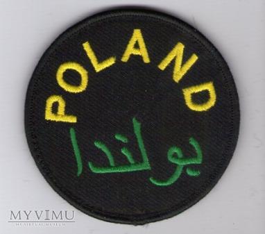 Emblemat misyjny POLAND