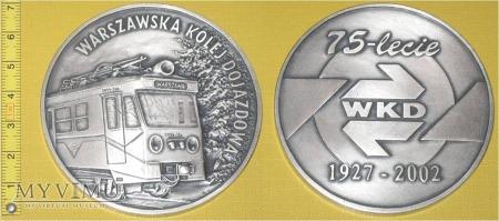 Medal kolejowy Warszawskiej Kolei Dojazdowej