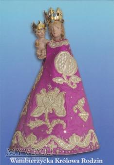 Obrazek Matki Bożej Królowej Rodzin z Wambierzyc