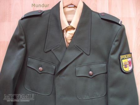 Polizei Mecklemburg-Vorpommern - mundur służbowy