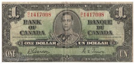 Kanada - 1 dolar (1937)