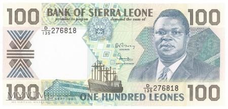 Sierra Leone - 100 leones (1990)