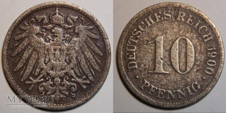 Niemcy, 1900, 10 PFENNIG