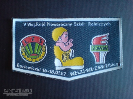 V Woj.Rajd Noworoczny Szk.Rol.-1987 r.