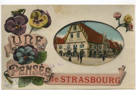 Pamiątka ze Strasburga - 1923